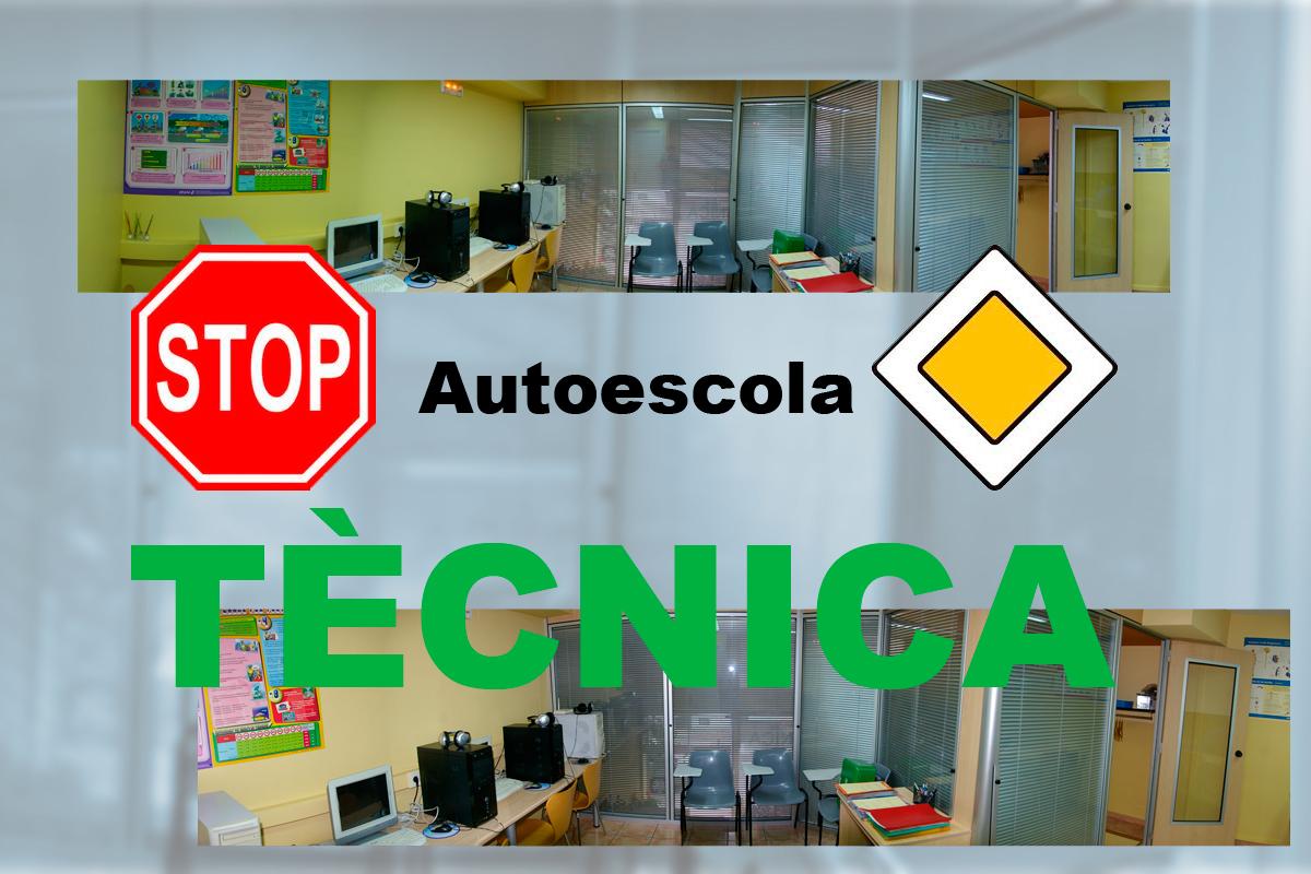 Equipaments de l'Autoescola Tècnica
